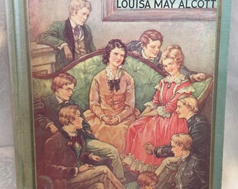 Rose in Bloom by Louisa M. Alcott, 1933 ed. with C.M. Burd Illustrations