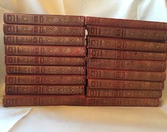 1923, 18-Volume Pocket University: Poetry, Essays, Humor; Fiction; Autobiography