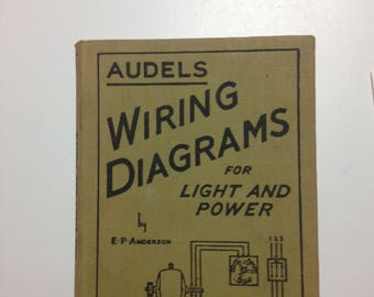 Audel's Wiring Diagrams for Light and Power
