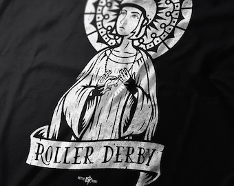 Patron Saint of Roller Derby Women's short sleeve t-shirt