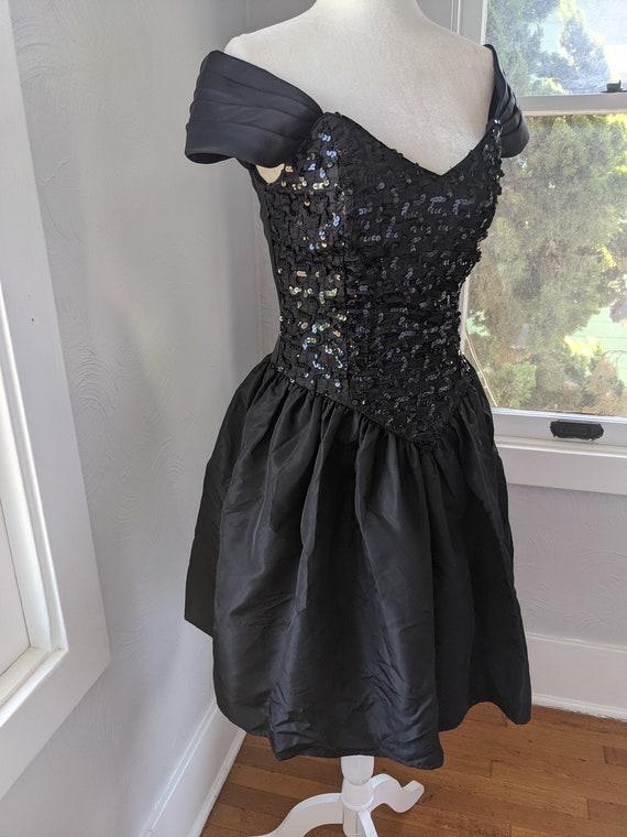 Gunne Sax Jessica McClintock party dress 80's vin… - image 3