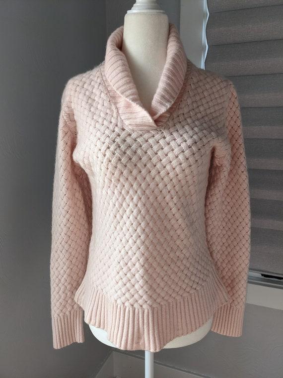 pale pink cashmere sweater I magnin - image 2