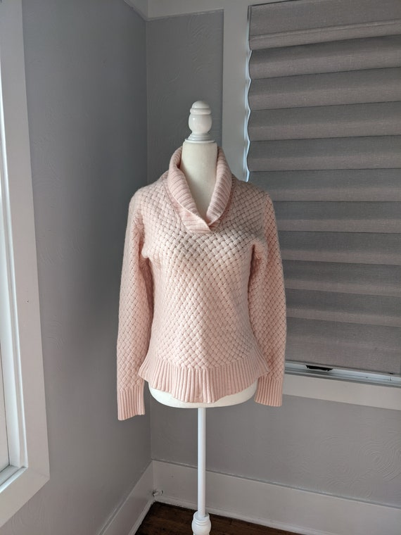 pale pink cashmere sweater I magnin