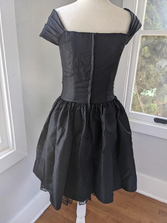 Gunne Sax Jessica McClintock party dress 80's vin… - image 5