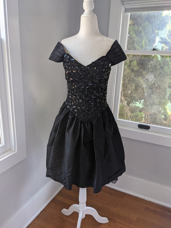 Gunne Sax Jessica McClintock party dress 80's vin… - image 1