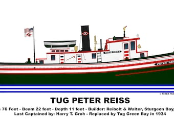 Great Lakes Tug Peter Reiss