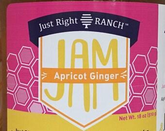 Apricot Ginger Jam