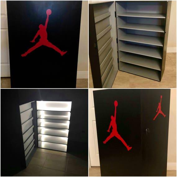 & Jordan Shoe Storage Box Locker 18 pairs