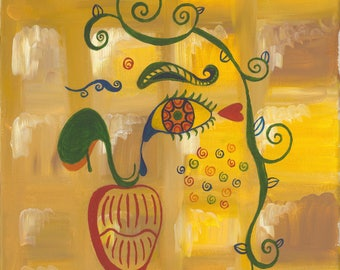 Original Painting By Alejandra E. Avera