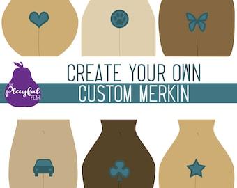 Custom Merkin | Burlesque - Cabaret - Festival Fashion