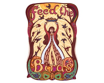 Feed the Birds Foldover Card