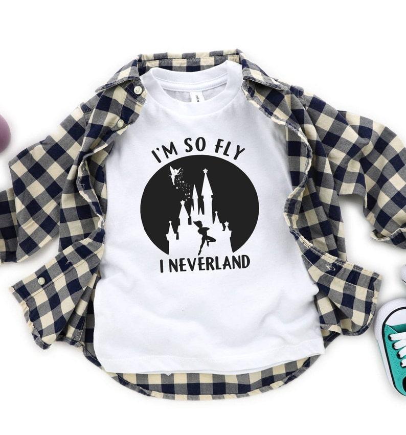 719a72db4 I'm So Fly I Neverland Disney Kids Shirt / Disney Peter   Etsy