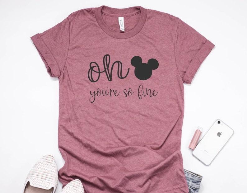 13d9da17 Oh Mickey You're So Fine Shirt / Disney Shirt / Magic | Etsy