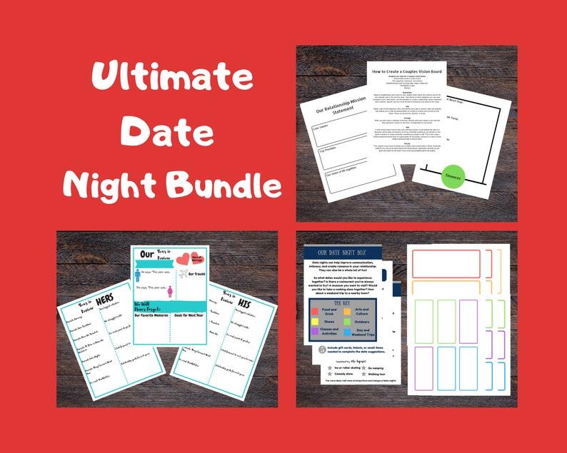 Ultimate Date Night Bundle  Includes Date Night Cards image 0