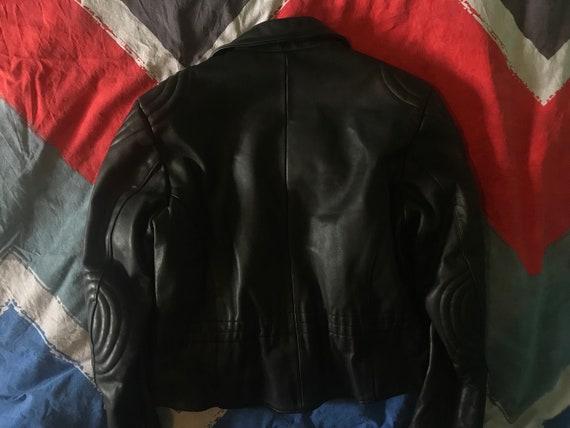 Mens Motorcycle  Leather Jacket - image 2