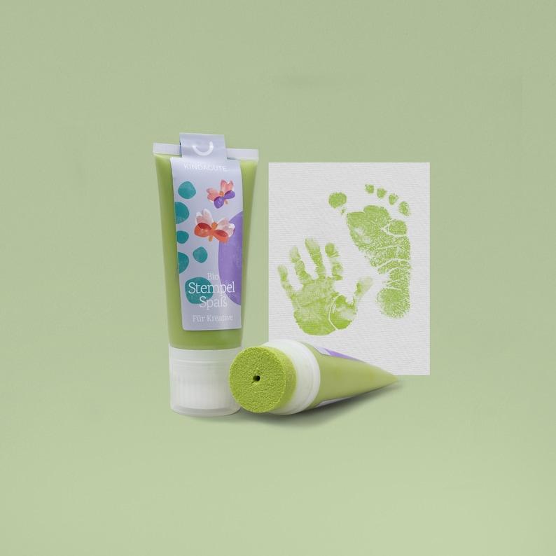 PISTACCIO  Bio Babystempel 50ml Tube  beautiful Baby image 0
