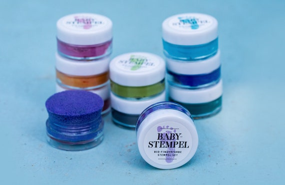 Fingerfarbe Weihnachten.Black Bio Bio Babystempel 20ml For Beautiful Footprints Of Your Baby Non Toxic And Safe To Use