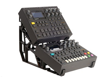 Stand for electron digitact, digitone or similar devices with similar dimensions.