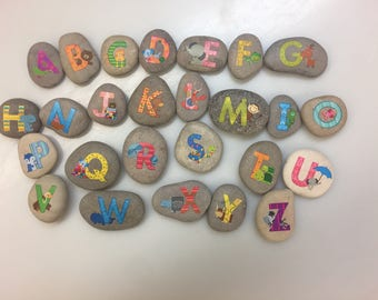 Story stones Alphabet