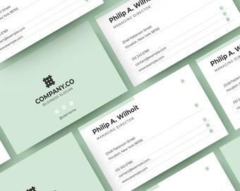 Minimal Tri Fold Brochure Corporate Tri Fold Brochure Design Etsy