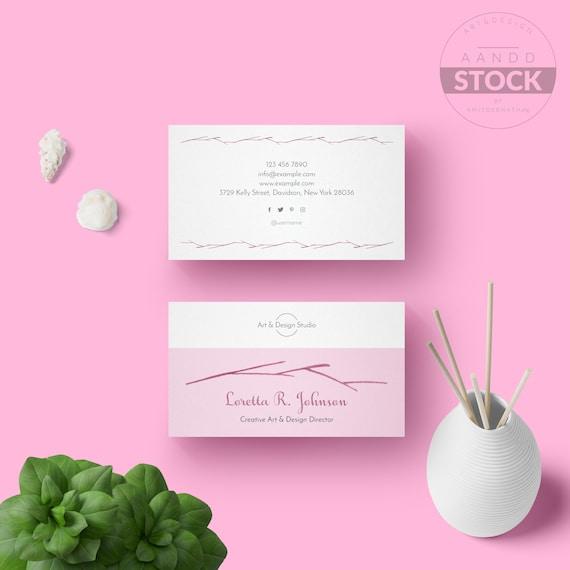 Visitenkarten Design Minimale Moderne Visitenkarte Vorlage Elegante Druckbare Visitenkarte Sauber Professionelle Visitenkarte Vorlage