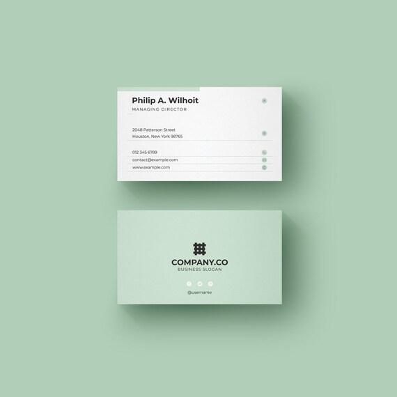 Moderne Minimal Visitenkarten Layout Einfache Visitenkarte Design Visitenkarte Professionelle Visitenkarten Minimalistische Visitenkarte