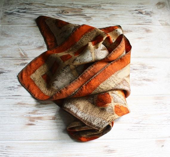 Vintage Jeanne Lanvin Castillo silk scarf Square o