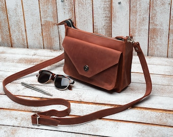Leather Crossbody Bag 0137e13b89796