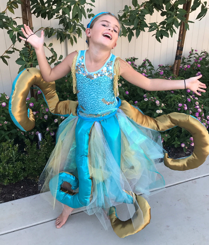 Uma costume //Descendants 2//octopus //daughter of Ursula