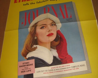 Ladies Home Journal Ethel Barrymore Poster   [c5008o]