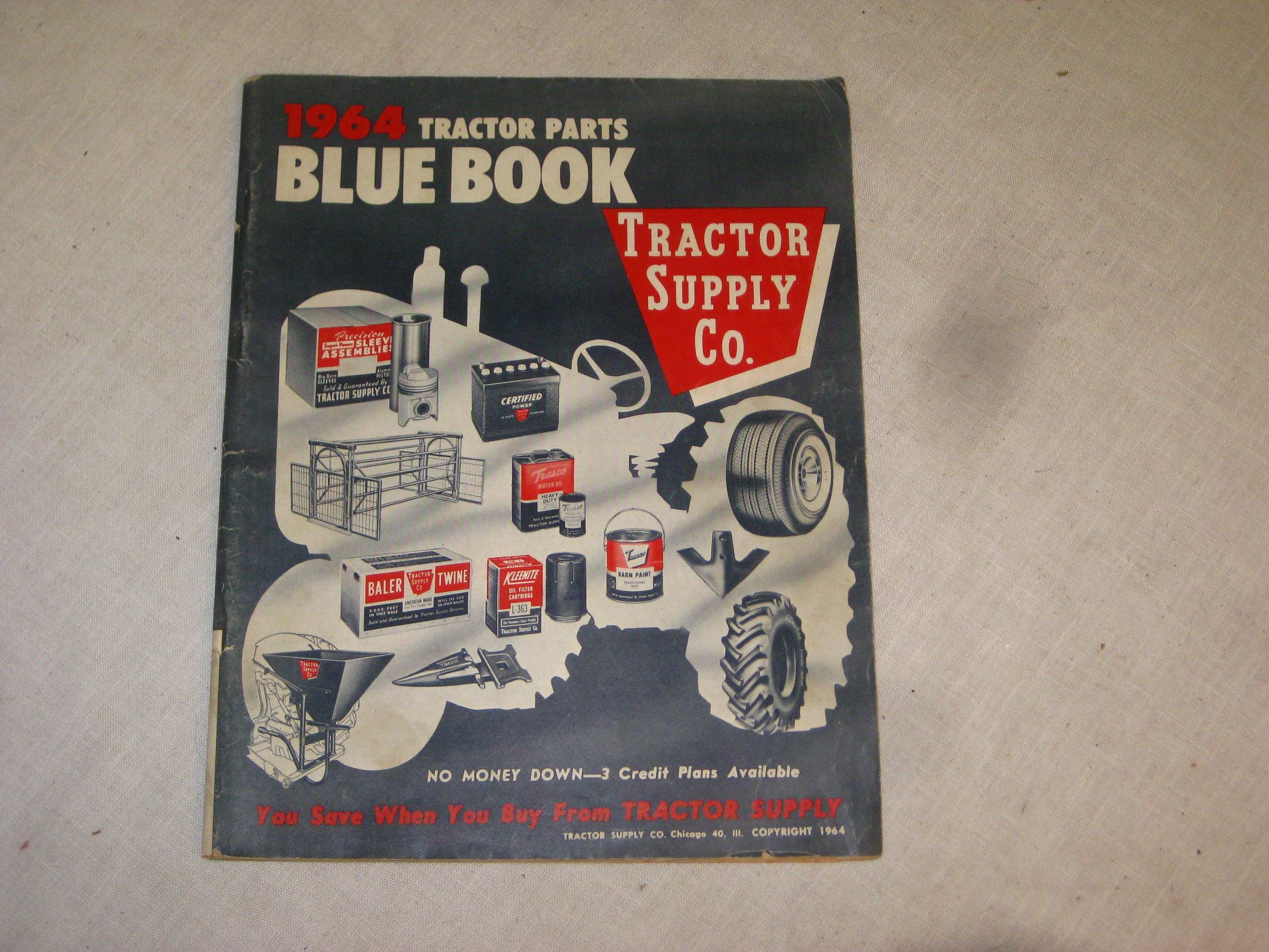 blue book on tractors