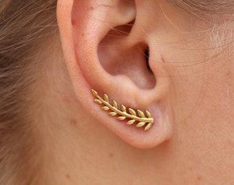 Ear Climber RANKE Earclimber Brass Earrings Ladies