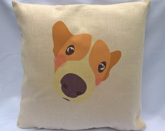 Dog Lover S Cushion Always Kiss Your Dog Goodnight Etsy