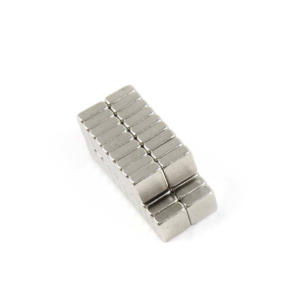 "3//16/"" x 3//16/"" x 1//32/"" Blocks 5x5x1mm Neodymium Magnets N35 Fridge Craft Supply"