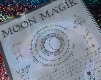 Magic Spell Page - Galaxy