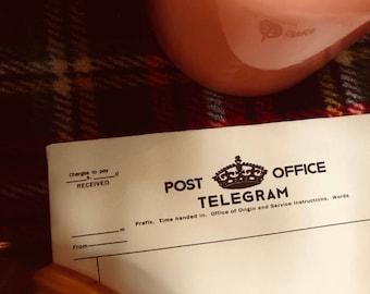 World War 1 Telegram UK - Blank, PDF