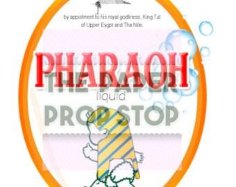 Pharaoh Liquid / Fairy Liquid Joke Label