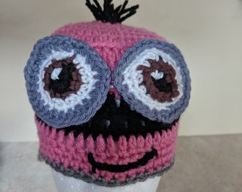 Pink Minion Hat