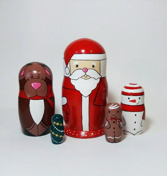 Santa Nesting Dolls