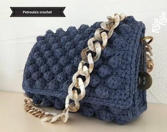 Crochet Bag Tote bag Handbag Handmade,Bag Casual Shoulder Bag 0ae1bd2a2a