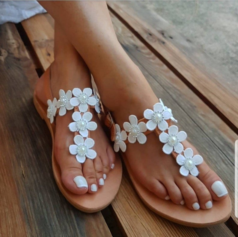 c861b45d03 Woman's Wedding Shoes, Wedding sandals, Bridal shoes, Beach wedding  sandals, Greek Leather Sandals, Woman shoes, FREE SHIPPING
