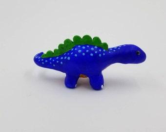 Blue Stegasaurus Figure