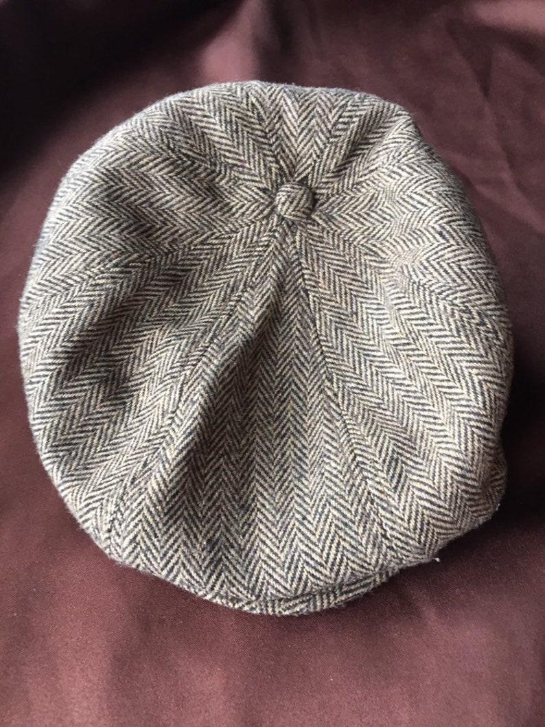 Small Newsboy Cap Small Cap Ivy Cap Brown Newsboy Hat  02a25210eb3
