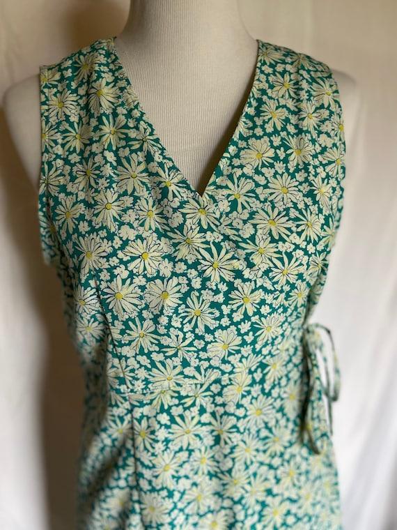 Floral Vintage Romper, Summer Romper, Campaign In… - image 1