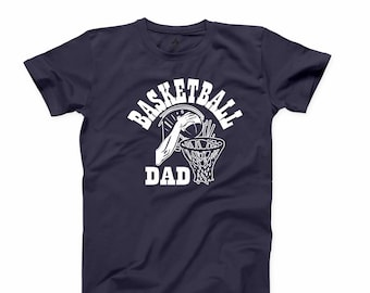 4709c4412 Basketball Dad T Shirt Father and Son Tshirt Daddy T-shirt Favorite Fathers  Day Gift Tee