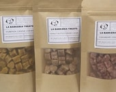 LA BARKERIA Soft Canine Chews. Handmade Soft Dog Treats. All-Natural Ingredients. No Chemicals. No Dyes.