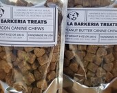 Canine Chews by La Barkeria. Handcrafted Soft Treats. Made in Small-Batches with Limited Ingredients.