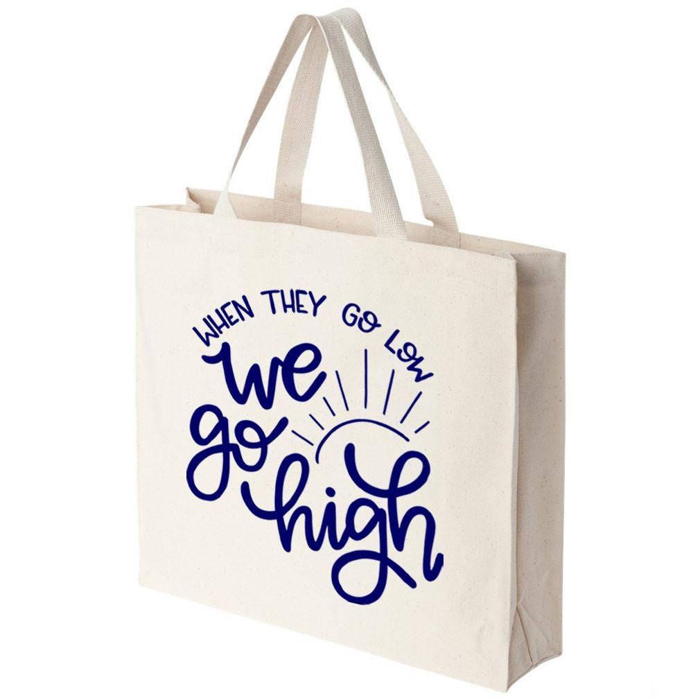 Wenn sie tief gehen gehen wir hoch Einkaufstasche | Etsy