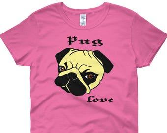 Pug Love Womens Shirt