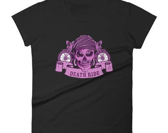 Death Ride Motorcycle Women's short sleeve t-shirt